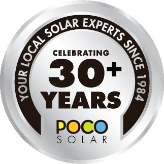 POCO 30+ Year Badge